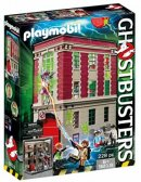 playmobil ghostbusters firehouse box