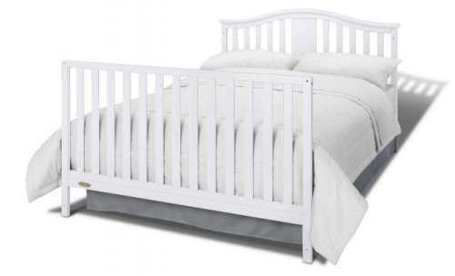 graco solano 4-in-1 crib with changing table bed