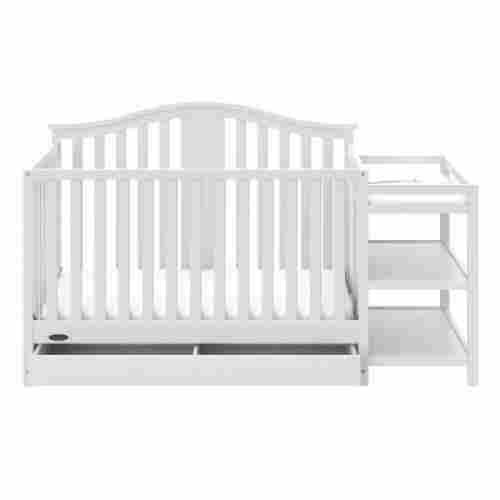 graco solano 4-in-1 crib with changing table design