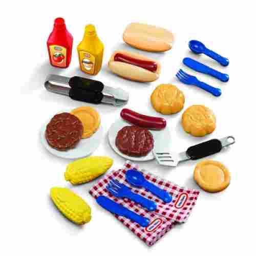 Barbecue Grillin Goodies play kitchen foods