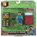 core player survival pack minecraft toys and minifigures for kids