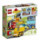 my first cars and trucks lego duplo package