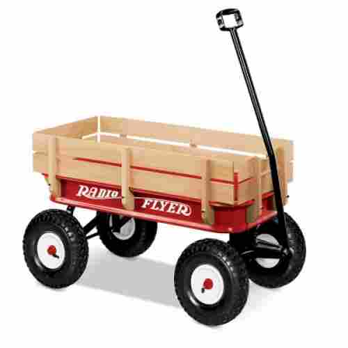 Radio Flyer Full Size All-Terrain Steel & Wood
