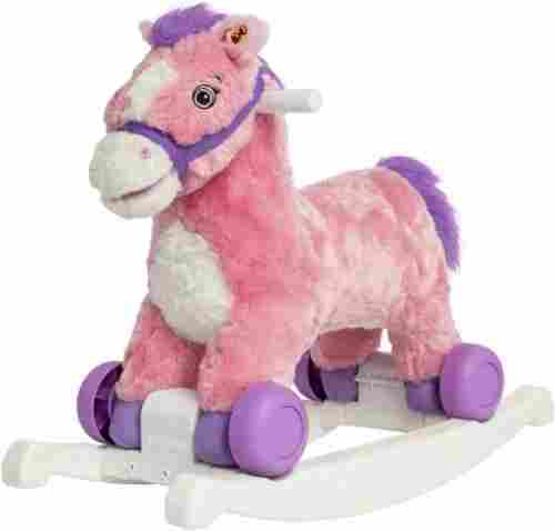 candy rocking horse 2-in-1