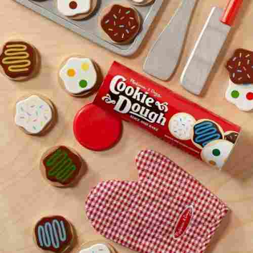 Slice-and-Bake Wooden Cookie