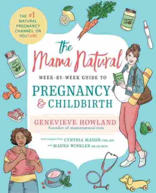 the mama natural week-by-week guide pregnancy book cover