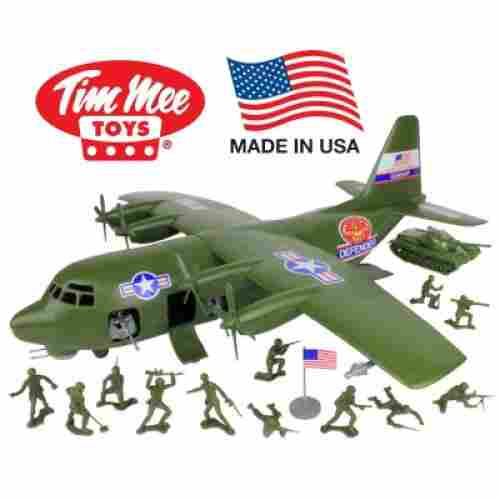 TimMee Plastic Army C130 Playset