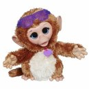 baby cuddles giggly monkey furreal friends
