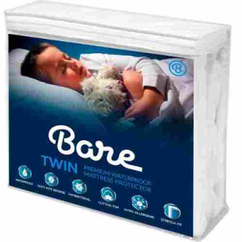 bare home twin size mattress protector for kids waterproof