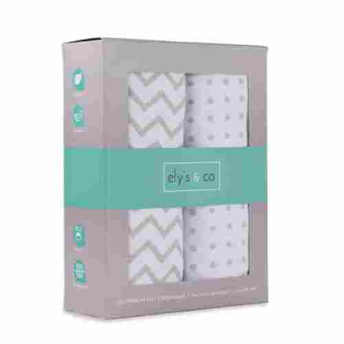 Ely's & Co. 2-Pack 100% Jersey Cotton