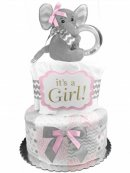 diaper cake for girls