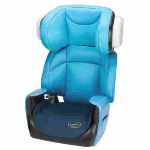 evenflo spectrum 2-in-1 high back booster seat blue