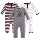 hudson cotton suit baby pajamas 3 Pack