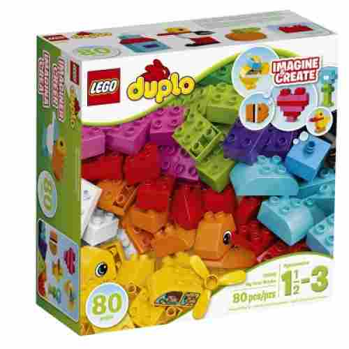 my first bricks building kit lego duplo package