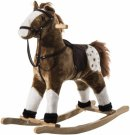 qaba plush rocking horse realistic sounds
