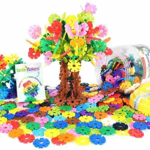 viahart brain flakes 500 piece adhd toy