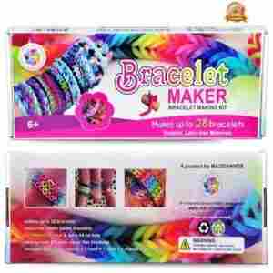 give the gift of unlimited bracelets with this bracelet making kit this kit includes 24 c clips to create customized bracelets one extra strong hook