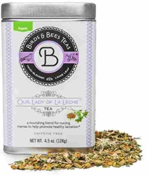 birds & bees lactation tea organic