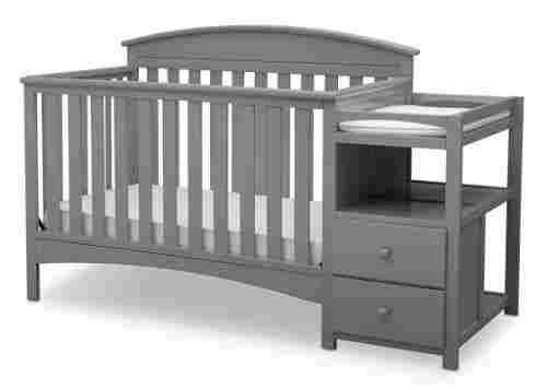 delta children abby crib with changing table