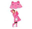 kidorable pink lucky cat umbrella