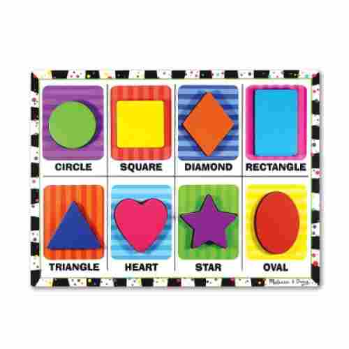 9 Month Old Toys Melissa Doug Shapes Puzzle