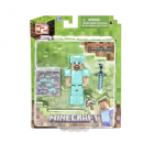 diamond steve action figure minecraft toys and minifigures for kids pack