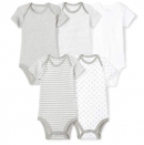 Moon and Back 5 Organic Bodysuits