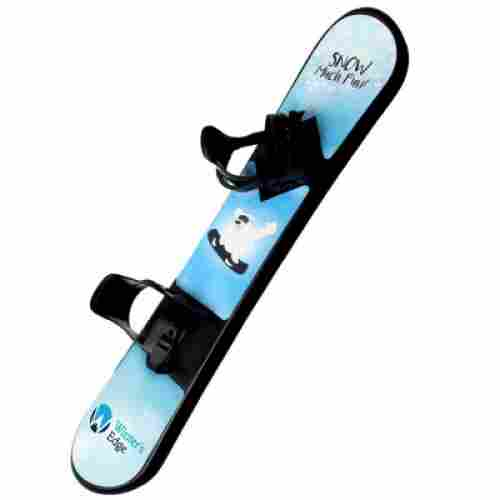 winter's edge plastic snowboard for kids design