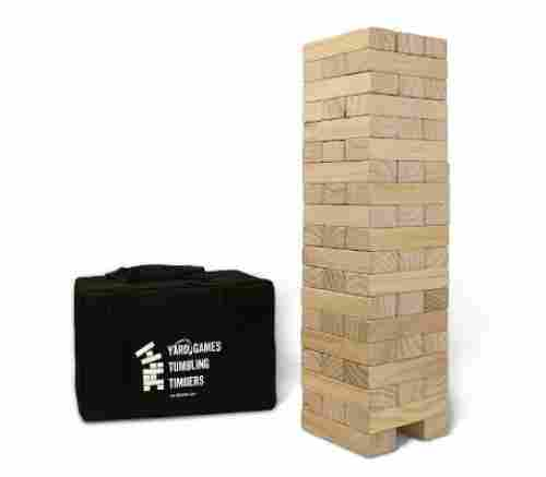 giant tumbling timbers outdoor game design