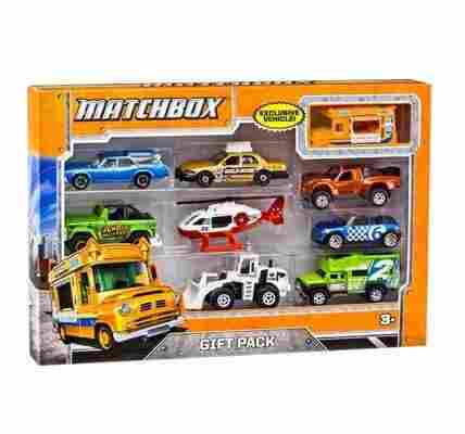 Young Boys Love Playing With Vehicles Now You Can Give Them The 9 Car Gift Pack By Matchbox To Expand Their Collection Of Miniature Toy Cars