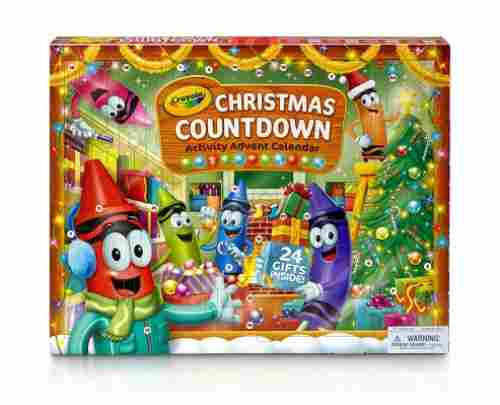 Crayola Christmas Countdown Activity
