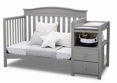 delta children birkley crib with changing table convertible