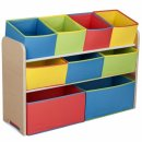 Delta Children Multi-Color Deluxe Toy Organizer with Depot Bins