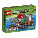 LEGO the mushroom island 21129 minecraft toys and minifigures for kids box