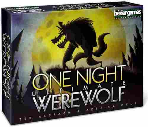 one night ultimate werewolf halloween game pack