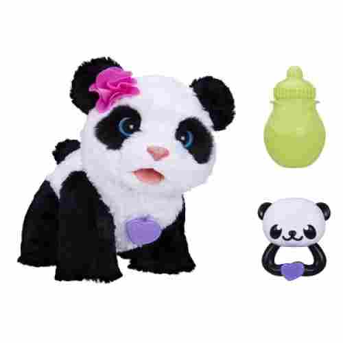 pom pom baby panda furreal friend