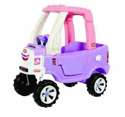 With Its Sturdy And Unique Purple Frame The Princess Cozy Truck Ride On Is Sure To Bring Your 3 Year Old Girl Plenty Of Joy Has A Flatbed That
