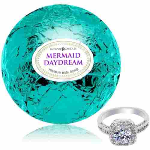 jackpot candles mermaid bath bomb for kids surprise
