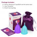 bodybay super guarantee menstrual cup pack
