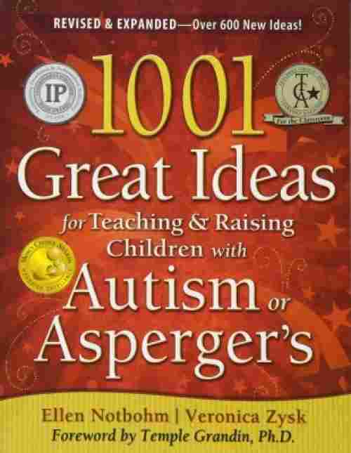 1001 great ideas book on autism cover