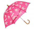 hatley girls' printed umbrella