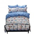 oRoa reversible twin kids bedding 100% cotton