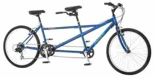 Pacific Dualie Tandem Bicycle Full View
