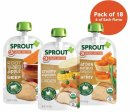 sprout baby food pouch organic