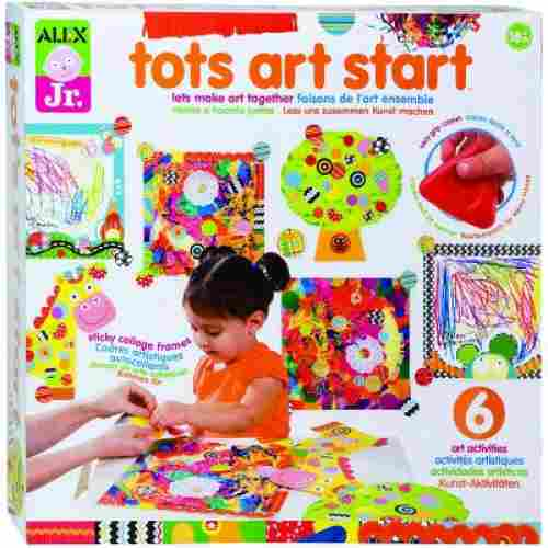 tots art start art and craft sets for kids box