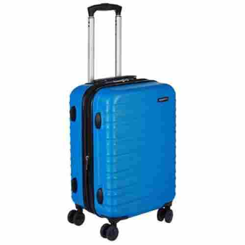 amazonBasics hardside spinner kids luggage set blue