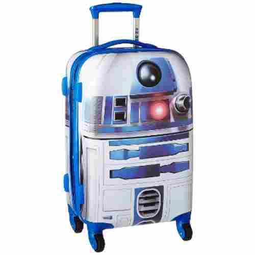 star wars gard side spinner kids luggage set