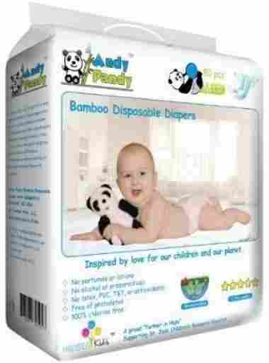 Andy Pandy Biodegradable Bamboo, 50 Count