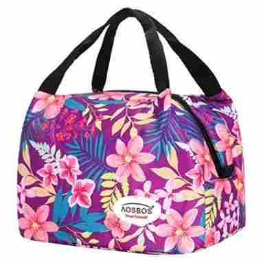 Reusable Insulated Lunch Box Tote Bag
