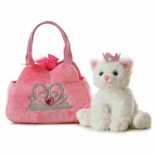 Aurora Plush Princess Kitten Purse